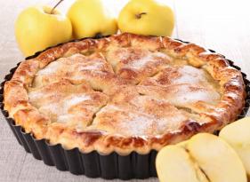 Jablečný koláč ze směsi na halušky