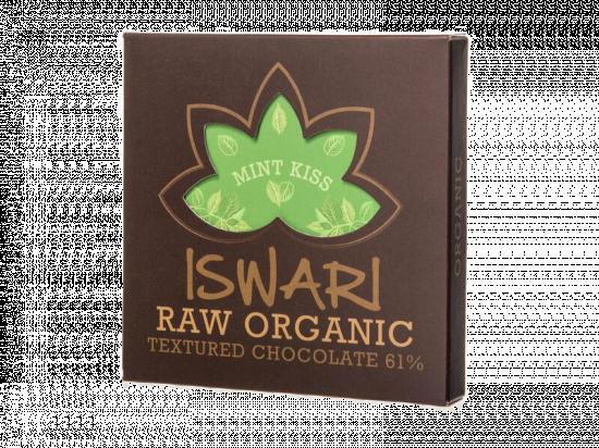 Čokoláda Mint Kiss 61 % BIO Raw